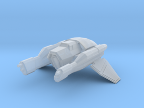 Hutt invader-class station fighter in Smooth Fine Detail Plastic