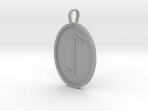 Eeoh Rune (Anglo Saxon) in Aluminum