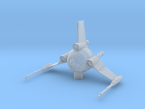 Tri Wing Fighter in Smooth Fine Detail Plastic