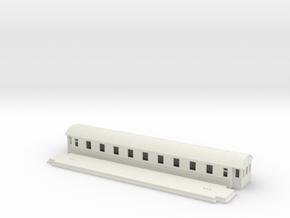 Co4b version 2 - Swedish passenger wagon in White Natural Versatile Plastic