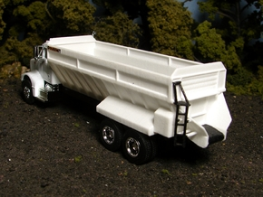 "1/64th ""S"" Scale Model 802 Self-Unloading Truck Be in White Processed Versatile Plastic"