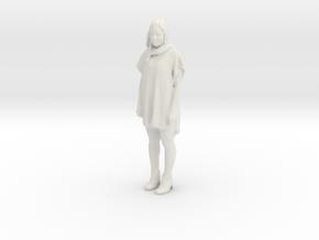 Printle F Victoria Abril - 1/20 - wob in White Natural Versatile Plastic