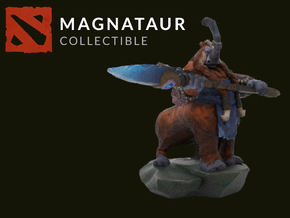 Magnataur in Full Color Sandstone