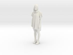 Printle F Victoria Abril - 1/24 - wob in White Natural Versatile Plastic