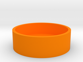 Boston Box - USA Dollar in Orange Processed Versatile Plastic