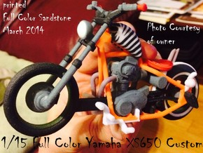 1-15 Full Color Yamaha XS650 Custom in Full Color Sandstone