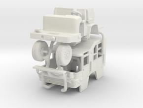 1/87 Pierce Quantum PUC cab in White Natural Versatile Plastic