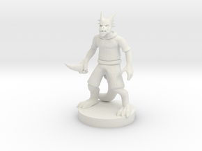 Kobold Rogue in White Natural Versatile Plastic
