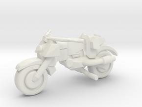 Street Bike #1 in White Natural Versatile Plastic
