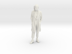 Printle F Jane Austen - 1/18 - wob in White Natural Versatile Plastic