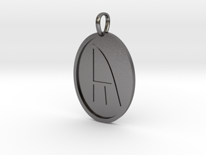 Yr Rune (Anglo Saxon) in Polished Nickel Steel