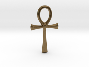 little ankh in Natural Bronze