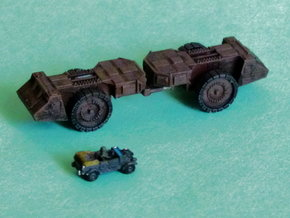 Krupp Räumer S Mineclearing Vehicle 1/285 / 6mm in Smooth Fine Detail Plastic