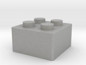 LegoKeycap in Aluminum