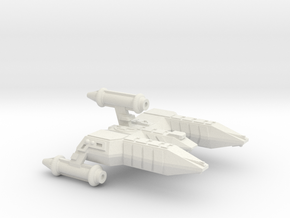 3125 Scale Lyran Alleycat War Destroyer (DW) CVN in White Strong & Flexible