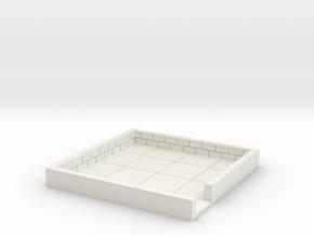 4x4_onedoor_a in White Natural Versatile Plastic