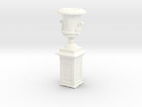 Printle Thing Outdoor Vase - 1/24 - wob in White Processed Versatile Plastic