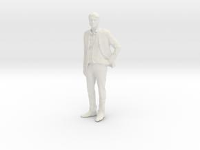 Printle F Homme Javier Bardem - 1/18 - wob in White Natural Versatile Plastic