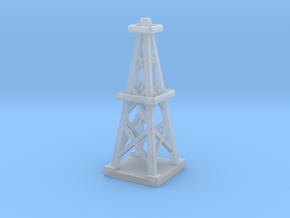 Oil Derrick  in Smooth Fine Detail Plastic