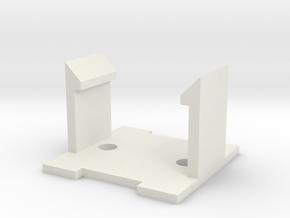 Kraft KC3 Joystick Top Button Refurb w/ Omron B3F in White Strong & Flexible