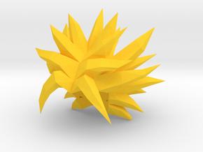 Custom Broly LSSj Inspired Hair for Lego in Yellow Processed Versatile Plastic