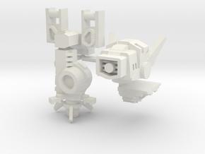 Zap-boom Upgrade Set in White Natural Versatile Plastic