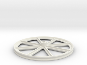 1S Contra-rotating system - Main friction ring 50m in White Natural Versatile Plastic