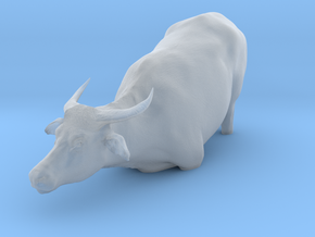 Domestic Asian Water Buffalo 1:9 To Deeper Water in Smooth Fine Detail Plastic