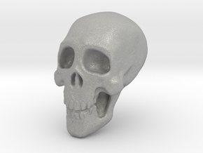 Tiny Skull in Aluminum