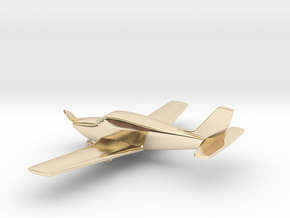 Piper PA-24 Comanche in 14k Gold Plated Brass: 1:108