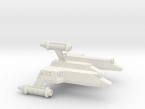 3125 Scale LDR War Cruiser Scout (CWS) CVN in White Natural Versatile Plastic