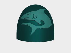 Mako Shark - G5 Shoulder Pads x10 in Smooth Fine Detail Plastic