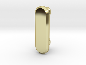 Razer Nabu Wristband Clasp in 18k Gold Plated Brass