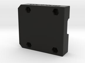 GCPlug Bottom in Black Natural Versatile Plastic