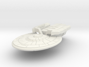 Colonial Light Carrier (no turrets, parts on sp in White Natural Versatile Plastic