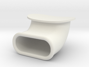 Airintake in White Natural Versatile Plastic