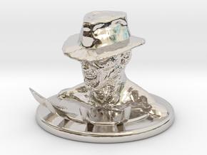 Nightmare in Rhodium Plated Brass