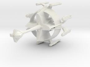 Star Sailers - K'Tinga D7 - Cruiser in White Natural Versatile Plastic