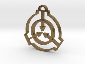 SCP Pendant in Natural Bronze