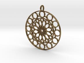 MVSG Pendant in Natural Bronze