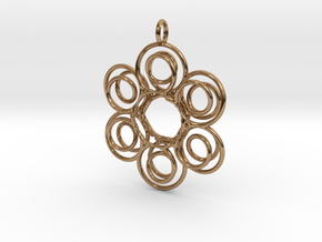 6knots P. in Polished Brass