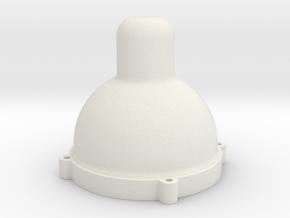 C O2 Destroyer in White Natural Versatile Plastic