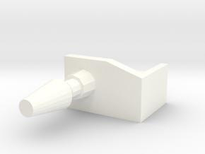 traylbraker_arm_cannon in White Processed Versatile Plastic