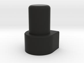 GCPlug Button in Black Natural Versatile Plastic