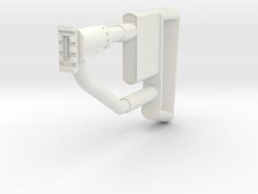 Quickshot Shoulder Stock in White Natural Versatile Plastic