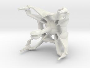 Star Sailers - Qud - Frigate in White Natural Versatile Plastic