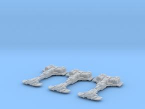 Defender Frigates (3) in Smooth Fine Detail Plastic