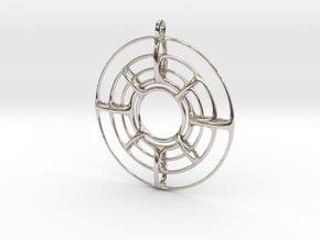 YnYPendant in Platinum
