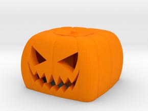 Halloween pumkin keycap 1 - cherry MX in Orange Processed Versatile Plastic