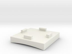 GoPro ZipMount part 2 in White Natural Versatile Plastic